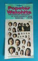 Popstar Watchits - MUD - Letraset Rub-down Transfers - 1975 -