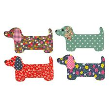 Dachshund Manicure Nail File Emery Board Set of 4 Sausage Dog Gift Sass & Belle