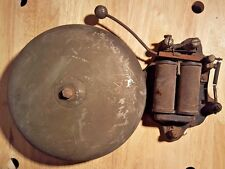 Antique Large  FARADAY ALARM BELL NO.3 Works Fire Boxing School gong Antique Old