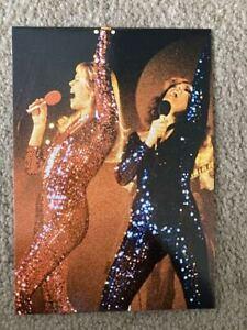 ABBA promotional postcard