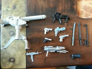 "Weapons 6"" scale 1:12 weapons Guns  Accessories G.I. Joe  Marvel Legends Lot 5"