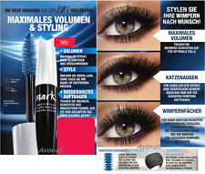 AVON Mark Big & Style Volumen Mascara für flexible Wimpern Black Schwarz 10ml