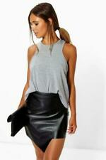 Boohoo Mini (10.5-17 in) Skirt Asymmetrical Skirts for Women