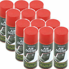 12 x 200ml Compressed Air Duster Spray Can Cleans Protects Laptops Keyboards HLU