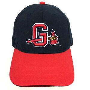 Gwinnett Braves Cap Tomahawk Chop Logo AAA MiLB Atlanta Baseball Trucker Dad Hat