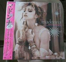 Madonna Like A Virgin JAPAN  W/OBI 1984 Sire Records vinyl Rare P6206 NM!