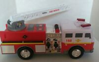 Tonka Fire Truck Lights & Sounds and Moveable Ladder 2011 Hasbro 16 Inches