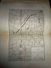 54 - CARTE MAP PLANS Campagne ITALIE 1745 & 1746 CASTEL ST GIOVANNI 1775