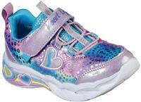 Skechers Kids' Sweetheart Lights Sneaker, Lavendar/Multi, Size 12.5 kciO