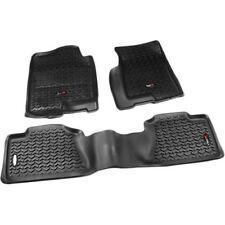 Rugged Ridge 99-06 GMC Chevy Pickup & SUV Black Floor Liner Mat Kit (82989.02)