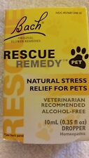 Bach Flower Remedies Rescue Remedy Stress Relief For Pets 10 mL  ♡Free Shipping