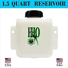 1.5 Quart Reservoir Tank: HHO Bubbler, Dry Cell, Hydrogen Generator FS