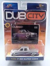 2003 DUB City Ford F-150 Super Crew 1:64 purple & silver BRAND NEW