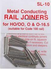 Peco SL-10 HO Code 100 Conductive Rail Joiner 24 Pack