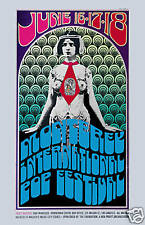 Summer of Love:  Monterey Pop Psychedelic  Concert Event Poster 1967