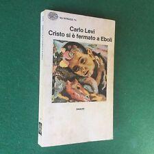 Carlo LEVI - CRISTO SI E' FERMATO A EBOLI Einaudi Struzzi/74 (1977) Libro