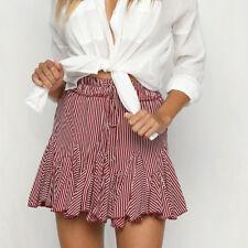 Women Fashion Party Cocktail Mini Skirt Dresses Ladies Summer Skater Short Skirt