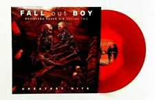 New ~ Fall Out Boy ~ Believers Never Die ~ Two ~‎ Red Blob Vinyl ~ Uma Thurman