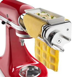 Stainless Steel Ravioli Maker Attachment pie pasta roller for kitchen aid Mixer