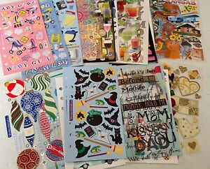 Stickopotamus Scrapbooking Binder Stickers, You CHOOSE! 54 Themes. NEW, NO PKG