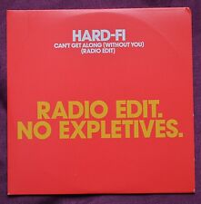Hard-Fi – Can't Get Along (Without You) (Radio Edit) Promo CD – Mint