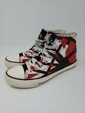 EVH 5150 Shoes Eddie Van Halen Skateboard Size 9 Rare Black Tongue *Flaws* Vans