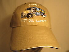 NWOT Men's Cap BRIAN'S HOT OIL SERVICE (Kansas) Size: Adjustable [Z164d]
