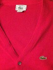 Vintage Izod Lacoste Men Cardigan Sweater XL