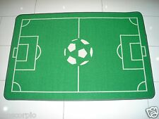 FOOTBALL PITCH RUG PLAYMAT 79 X 120cm APPROX HARD WEARING ***NEW***