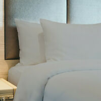 Bed Sheets Soft Hotel Luxury Cool Egyptian Cotton Feel 4 Piece Deep Pocket Set