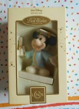 Nib Lenox Disney Showcase The Best Wishes Collection Mickey's Graduation Day