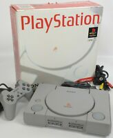 "PS1 Playstation Console System Boxed SCPH-5500 A5623850 SONY Tested ""NTSC-J"""