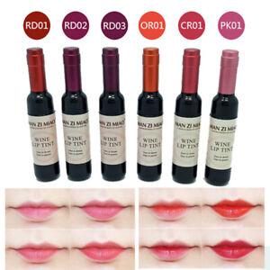 Red Wine Bottle Waterof Long Lasting Stained Matte Liquid Gloss Lip N6F5