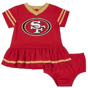 San Francisco 49ers Baby Dazzle Dress & Panty Set - Gerber NFL