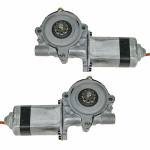 Power Window Lift Motor Pair Set of 2 for Ford Pickup Truck Lincoln Mercury