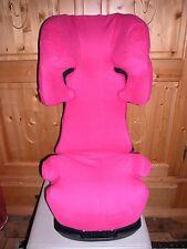Sommerbezug Schonbezug Frottee für Cybex Solution X, X2, X-Fix,X2-Fix pink