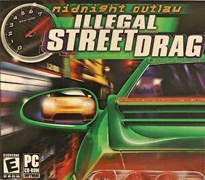 Midnight Outlaw Illegal Street Drag Pc New XP Nitrous Oxide High Octane Fury