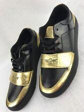 CREATIVE RECREATION Cesario MEN'S Gold Black FASHION SNEAKERS Shoes 11M