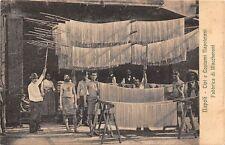 Italy Napoli Tipi e Costumi Napoletani, Fabbrica di Maccheroni, Pasta, factory