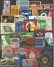 USA Lot of 38 Poster Labels     #132