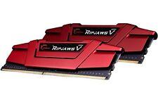 16GB G.Skill DDR4 PC4-17000 2133MHz Ripjaws V for Intel CL15 Dual kit 2x8GB 1.2V