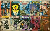 BATMAN#441-478 VF/NM LOT 1991 (10 BOOKS) ALL NEWSTAND EDITION DC COMICS