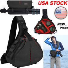 K1 Sling Camera Bag Backpack Shoulder Bag For Canon Nikon Sony Leica SLR DSLR