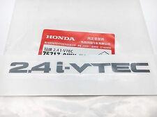 GENUINE HONDA 2.4 i-VTEC REAR WINDOW STICKER FOR ACCORD EURO TSX 2003-2015