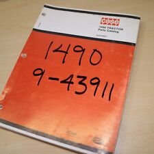 Case 1490 Tractor Spare Parts Manual Book Catalog List Farm Wheel 1980 Factory