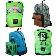 Official Minecraft Backpacks Rucksacks School Bags Various Designs