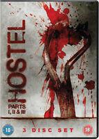 Hostel/Hostel Parte II / Hostel Parte III DVD Nuovo DVD (CDRP8110)