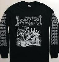 INCANTATION Long Sleeve T shirt Death metal IMMOLATION MORBID ANGEL BLOOD   S-XL
