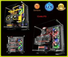 PC Gaming Gehäuse ATX Mid Tower Thermaltake Gehäuse Wandhalterung Open Liquid Support