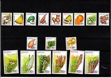 2001 Kenya Crops Definitive Complete Set of 18